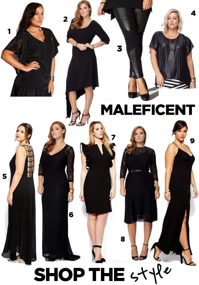 Steal Her Style: Maleficent Movie 2014 Shopping Board